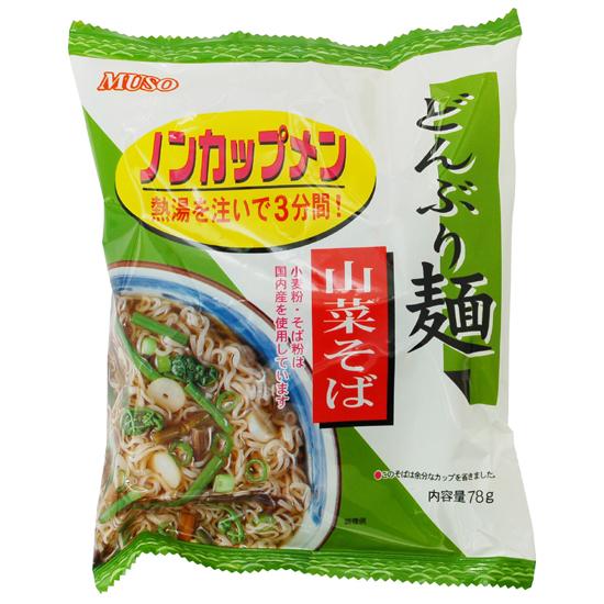 どんぶり麺(ノンカップ麺)