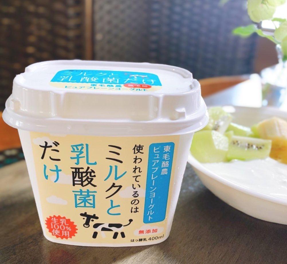 ミルクと乳酸菌だけ 東毛酪農ピュアプレーンヨーグルト